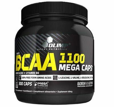 BCAA MEGA CAPS 1100 – Olimp Sport Nutrition