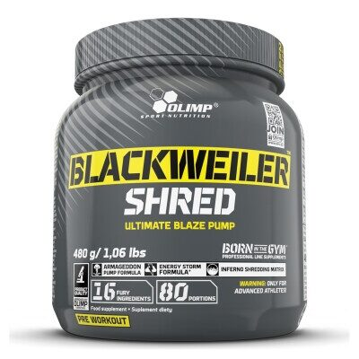 BLACKWEILER SHRED – Olimp Sport Nutrition – 480g