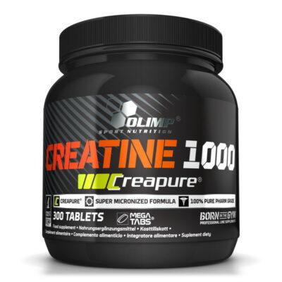 Créatine 1000 Créapure – Olimp Sport Nutrition – 300 comprimés