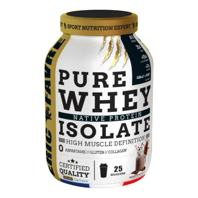 PURE WHEY 100% ISOLATE – Eric Favre